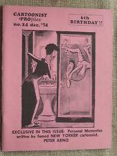 National Cartoonist Society Cartoonist Profiles #24 December 1974
