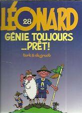 BD : LEONARD N° 28 : GENIE TOUJOURS PRET ! ( 1ère EDITION ORIGINALE / 1998 )