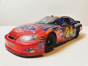Jeff Gordon 1/24 2005 Custom Reversed Numbers Autoclub 500