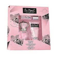 Our Moment Perfume One Direction 3pc Mini GIFT SET WOMEN 1 oz EDP Spray + LOTION