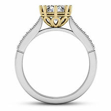 Solitaire 1.08 Carat SI1/I Round Diamond Engagement Ring 14k Yellow Gold