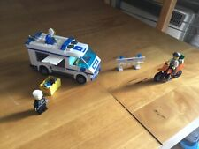 Lego City 7286 Prisoner Transport With 2 Minifigures- COMPLETE