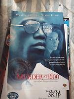 MURDER AT 1600 1 SHEET AUST DVD VERSION MOVIE POSTER