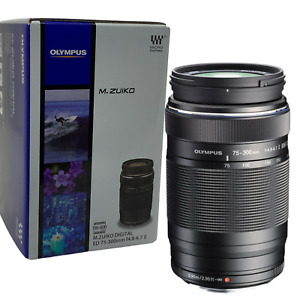 New Olympus M.ZUIKO DIGITAL ED 75-300mm f/4.8 - 6.7 II Lens