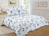 101-All For You 3PC quilt set, bedspread, and coverlet-Nautical -Tropical Fish