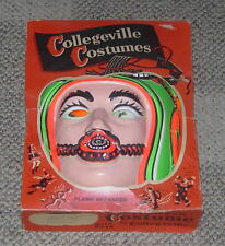 COLLEGEVILLE  SPACE COP  HALLOWEEN COSTUME  BOXED  LARGE  12-14 W/ MASK  C. 1960
