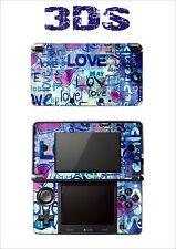 SKIN STICKER AUTOCOLLANT DECO POUR NINTENDO 3DS REF 56 LOVE