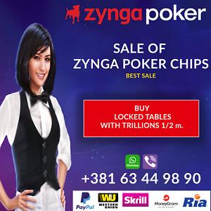 Zynga Poker Guarantee NO BAN 100B