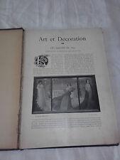 Art et Décoration 2e Semestre 1897 - Reliure amateur