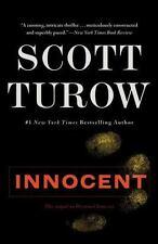 Innocent by Scott Turow (2011, Paperback / Paperback) legal thriller