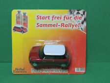 WELLY Mini Cooper rouge promotionnelle Herbal Essences 1/60 serie Sammel-Rallye