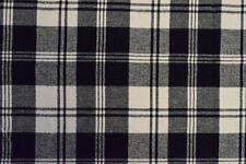 """Cotton Flannel Plaid Tartan Fabric By The Yard # Z -58""""W"""