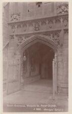 WALPOLE ST PETER (Norfolk) : South Entrance to Church RP-BRIDGE'S series
