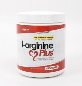 3 Bottles L-arginine Plus #1 L-arginine Supplement - RASPBERRY New In Box