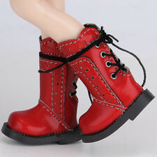 Dollmore Blythe Banji Dollfie Plus Size 12inches Anfan Noon Boots (Red)