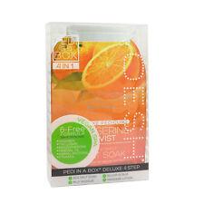 24 x VOESH Pedicure Set 4-in-1 Tangerine Twist Salt Scrub Masque Massage Lotion