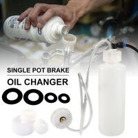 Car Brake&Clutch Bleeder Bleeding Fluid Kit Air Powered Pneumatic Vacuum Tool UK
