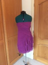 KALIKO.  DRESS SIZE 14  PURPLE. SPECIAL OCCASION. COCKTAIL.  KNEE LENGTH LAYERED