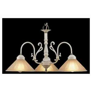 Classic Lighting Biltmore Traditional Chandelier, White - 3053W-PB