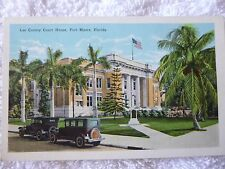 1930's Lee County Court House in Fort Myers, Fl Florida PC