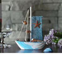 Ocean Sea Fishing Net Sailing Mediterranean Ornament Home TABLETOP Decor #3