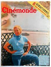 ►CINE MONDE 1087/1955-MICHELE MORGAN-JANET LEIGH-SILVANA MANGANO-MAURICE RONET..