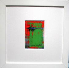 GERHARD RICHTER >Abstraktes Bild< HAND-SIGNIERT,Multiple 1996 signed + Rahmen