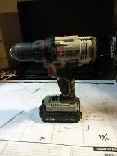 """Used PORTER CABLE PCC601 20V MAX 1/2"""" 2 Speed Lithium-Ion Drill Driver  and batt"""