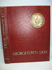 1969 Ye Domesday Booke, Georgetown University, Washington, D. C. Yearbook