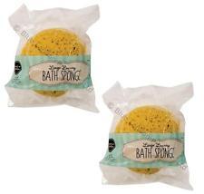 2 x Large Luxury Bath Sponge Extra Soft Bathroom Clean Shower Bubbles Body Wash