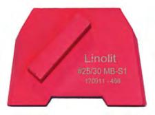 """Concrete Diamond Grinding Disc - 9x / Soft Bond #25/30 - 9 pieces """" Lavina"""""""