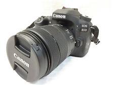 Canon EOS 80D 24.2MP Digital SLR Camera Kit - Black 18-55 EFS  0357977