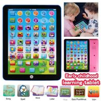 Educational Toys Baby Tablet Cellphone For 1-7 Year Old Toddler Learning Gift US