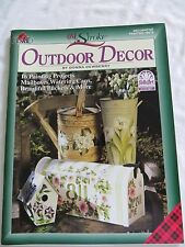 DONNA DEWBERRY ONE STROKE OUTDOOR DECOR PAINTING BOOK