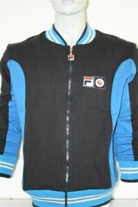 Fila Vintage Blue Settanta Bjorn Borg old School Jacke Sweater RETRO Blau John