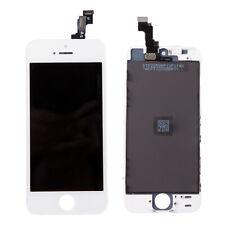Pantalla LCD para iPhone se 5S Reemplazo Digitalizador Táctil Pantalla Conjunto Blanco