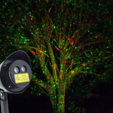 Outdoor Waterproof Dancing Laser Dot Projector Red Green Moving Lights Christmas
