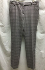 Giorgio Armani Italy Grey Wool Paid Dress Pants, Sz 44 Italy US 10-12 MAU13T