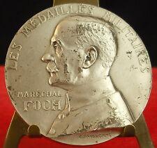 Médaille Militaire Maréchal Foch Valeur Discipline par G Prud'homme Medal 勋章