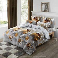 Christmas Gift Duvet/Doona/Quilt Cover Set Queen/King/Super King Size Bed New