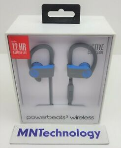 Powerbeats3 | A1747 | MNLX2LL/A | Wireless Headphones by Dr. Dre - Flash Blue
