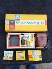 Vintage KODAK Brownie Starmatic II Outfit w/ Flash Manual Case & Original Box