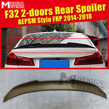 For 2014-18 BMW F32 4 Series PSM Style FRP Unpainted Trunk boot lid spoiler wing