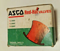 "NOS Asco UHT832421 MO 1/4"" Solenoid Valve 120/60 110/50 6 Watts 50 PSI Air"