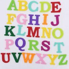 Alphabet Felt Cloth Letter 26Pcs Felt Fabric Polyester DIY Sewing Handmade