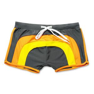 Men's Swimming Shorts Sexy Cool Swim Trunks Swimwear Beach Summer