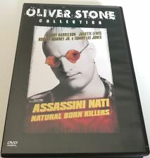 ASSASSINI NATI NATURAL BORN KILLERS FILM DVD ITALIANO SPED GRATIS SU + ACQUISTI