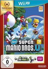 Nintendo Wii U New Super Mario Bros Selects Ausgabe mit Extra Super Luigi NEU