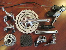 VINTAGE SHIMANO RSX A416 COMPLETE 8 SPEED TRIPLE 175 52/42/32 GROUP BUILD KIT