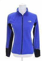 The North Face Womens Fleece Full Zip Vapor Wick Jacket Running Thumbholes Sz S